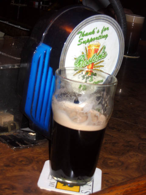 Dark murky Guiness -- a tasty treat?