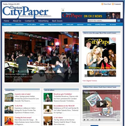 Screenshot of www.daytoncitypaper.com