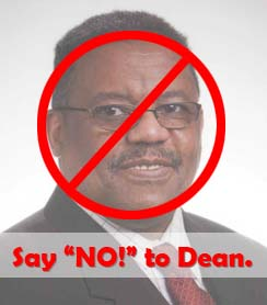 Say No! to Dean Lovelace on November 8, 2011