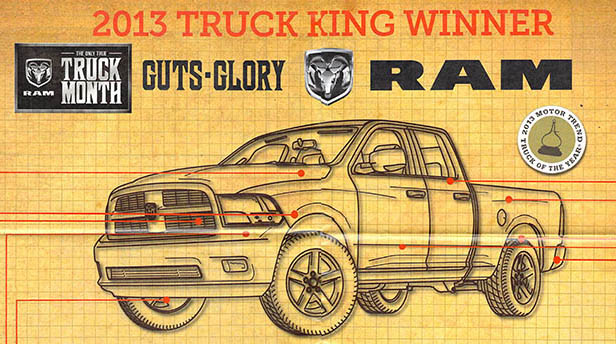 Chrysler Dodge RAM, Truck of the Year 2013