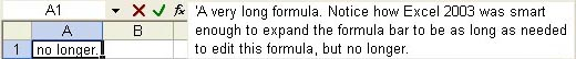 A long formula in Excel 2003