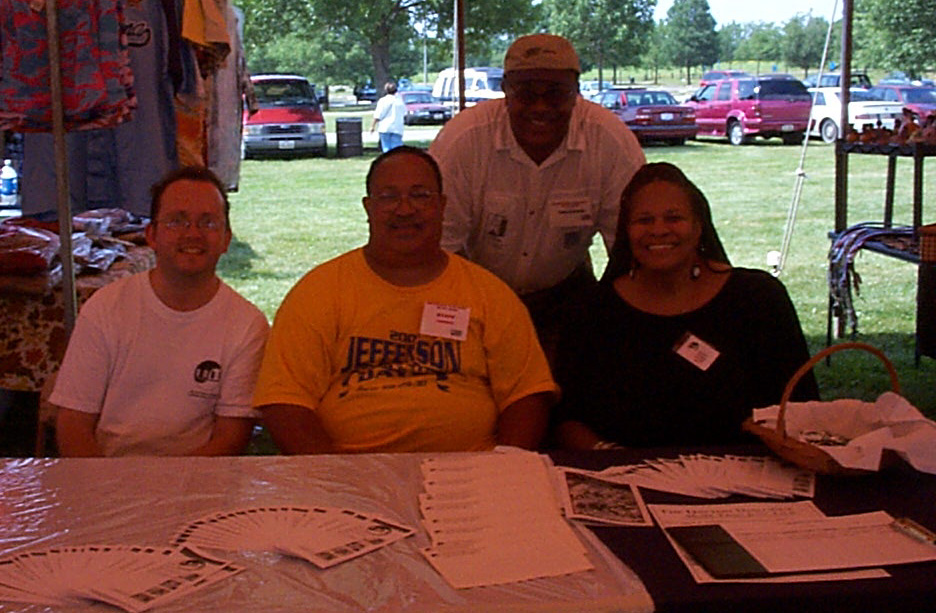 Picture of us at Jefferson Township Days