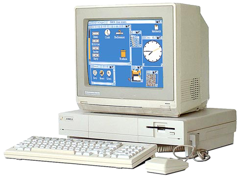 The first computer I ever owned was a Commodore Amiga 1000