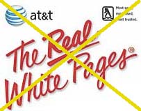 No more residential white pages unless you ask
