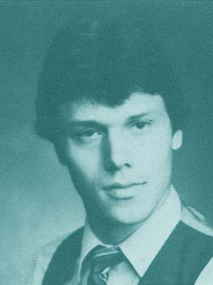 John Coppock (from his 1984 yearbook photo)