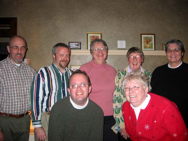 Eric, Mark, Marty, Linda, Lee, Anne and me